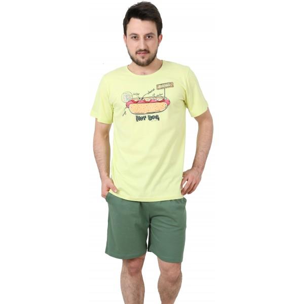 Pijama Hombre Corto Hot Dog