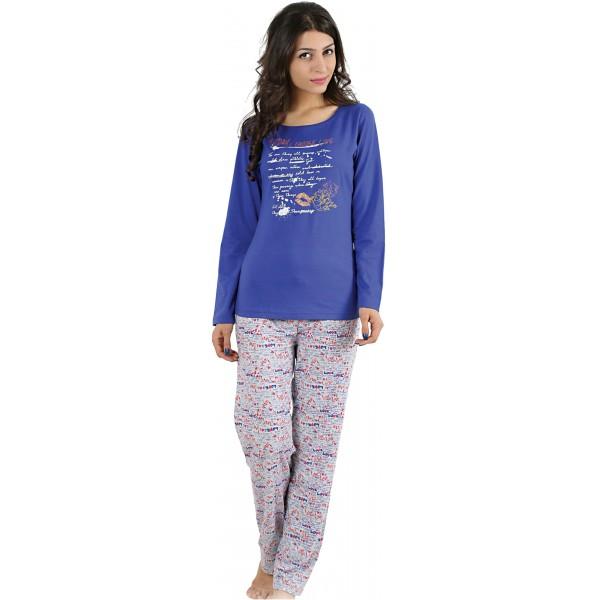 Pijama Largo Manga Larga Mujer Today Choose Love