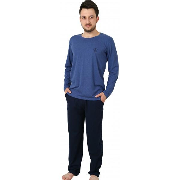 Pijama Hombre Largo Clasico