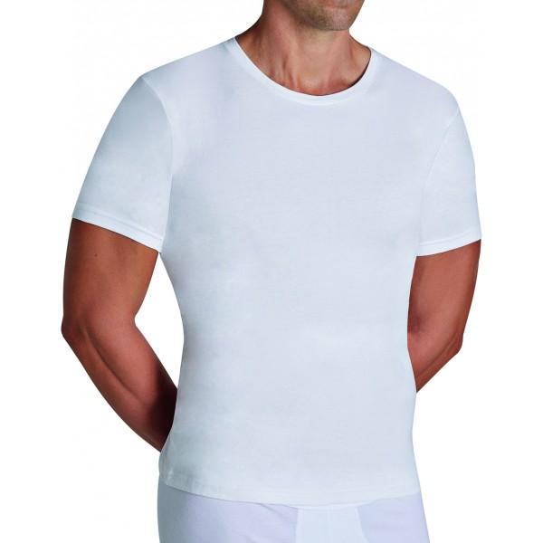 Camiseta Hombre Manga Corta Algodon