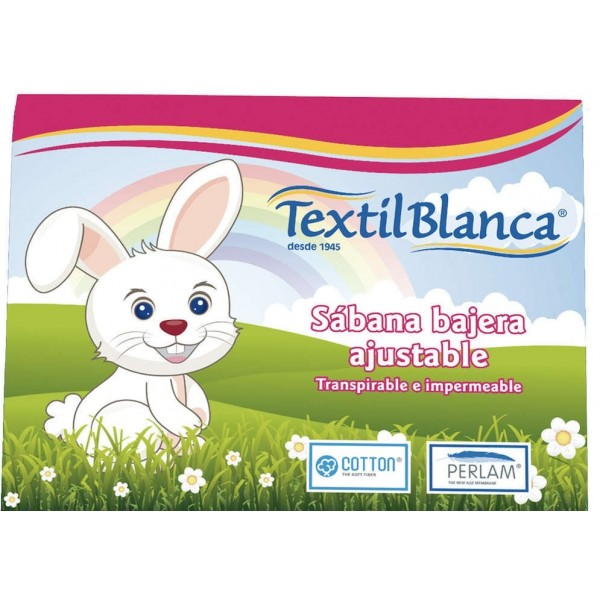Sabana Bajera Cuna Transpirable e Impermeable Cotton