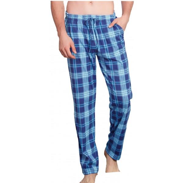 Pantalon pijama Cuadros Marino/Verde