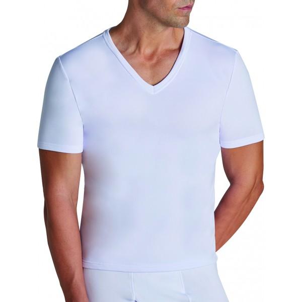 Camiseta Hombre Termal Manga Corta Pico